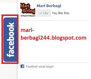 Cara Membuat Like Box Facebook Slide Pada Blog