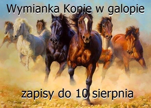 Wymianka Konie w galopie