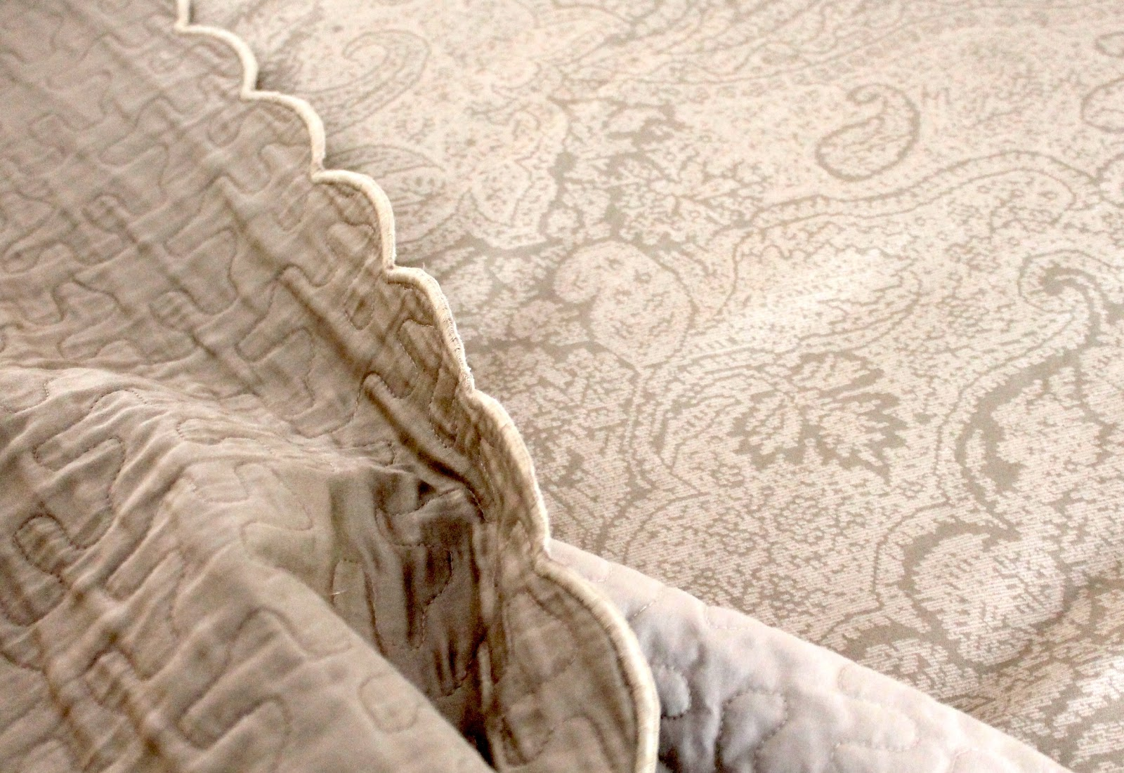 designing domesticity: bedding before and after