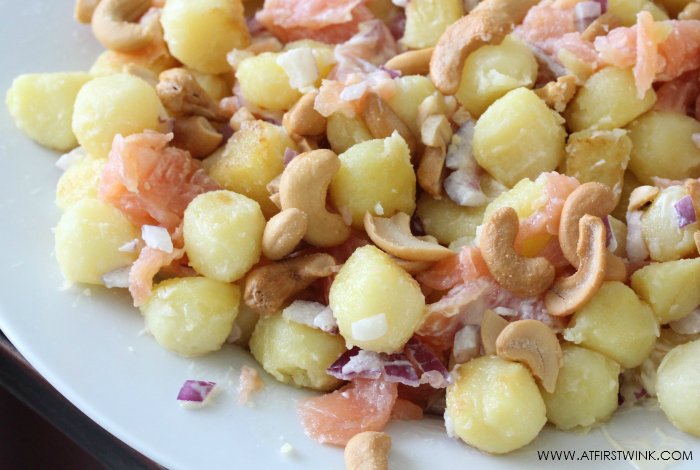 smoked salmon potato recipe