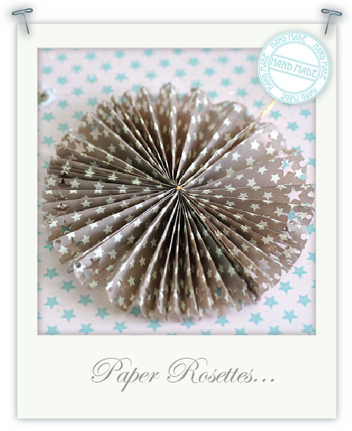 Paper Rosettes by Torie Jayne