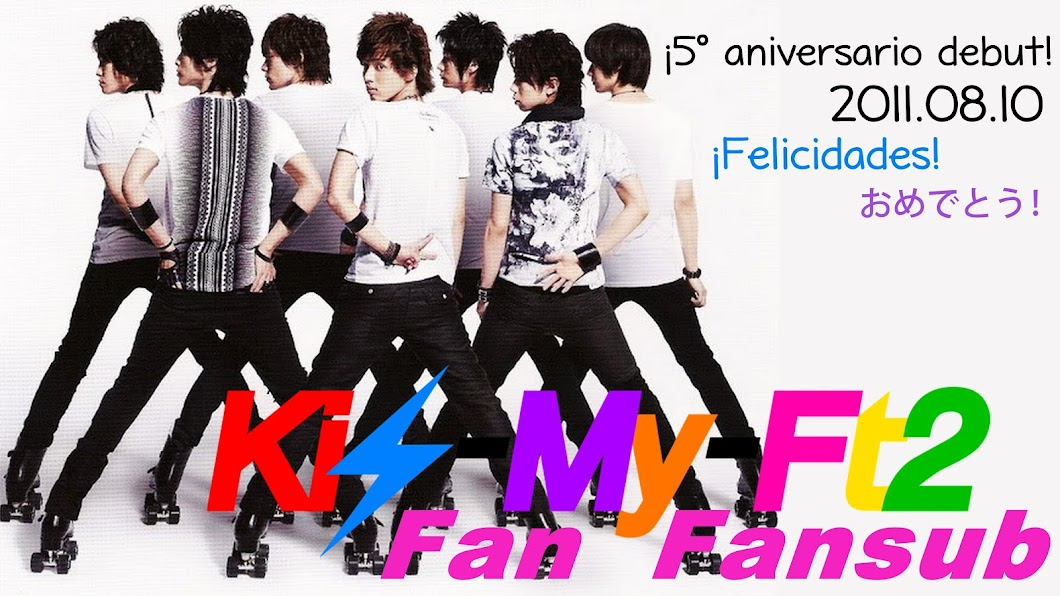 Kis-My-Ft2 Fan Fansub