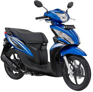 Blue Honda Spacy