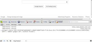 Google Bar, Google Tool Bar, JavaScript Console