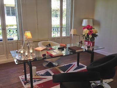 Parte del maravilloso despacho de la fundadora de I´m Pretty, Rocío - Foto: Amaya Barriuso