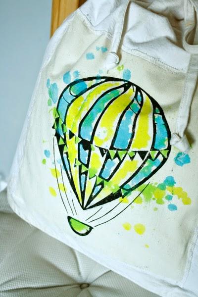 Plecaczek z balonem