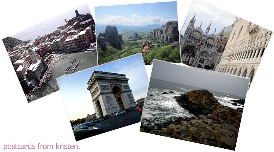 Postcards from Kristen