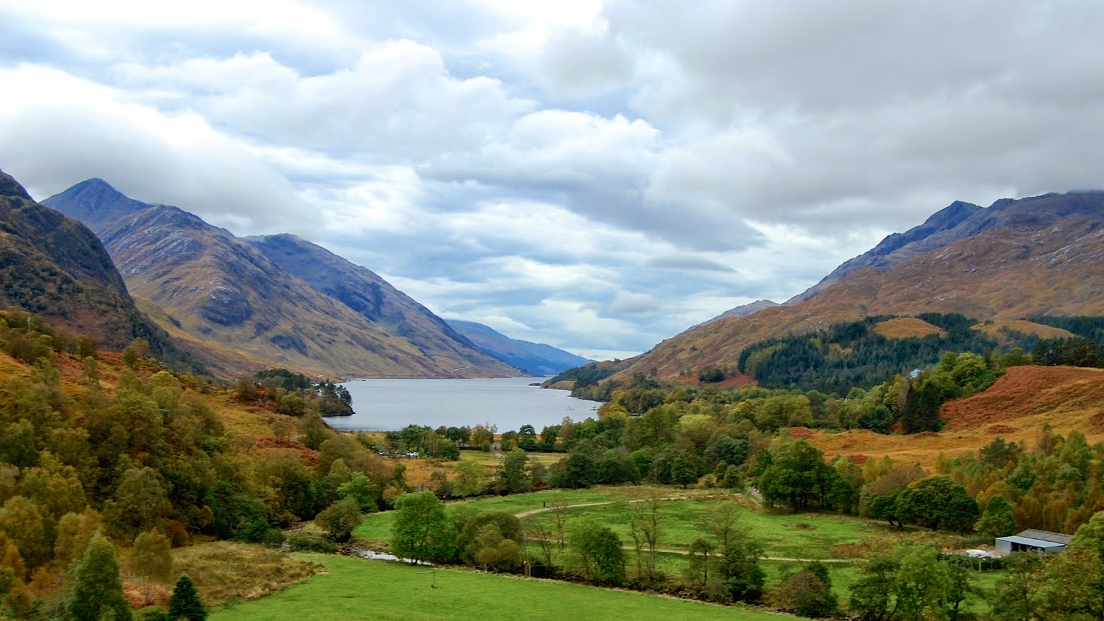 View from the Glenfinnan Viaduct