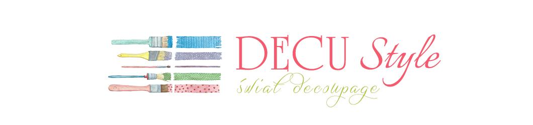 DECU Style - Decoupage blog