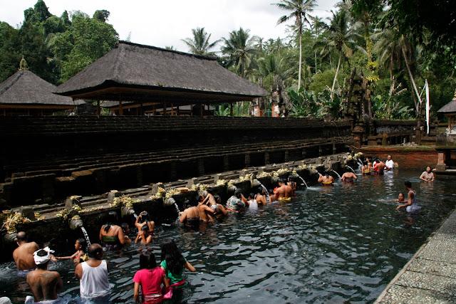 Templo del agua, Bali.