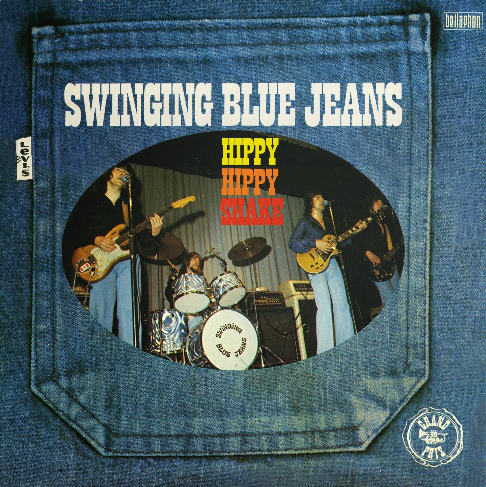 Blue jeans swinging chick