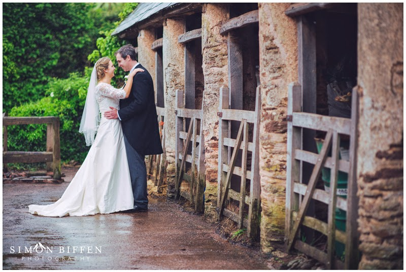 Bride and Groom portrait photographs on the farm