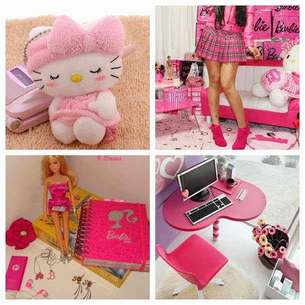Blog da Renata Princess Manual da Patricinha ? Quarto ~ Quarto Rosa Gloss