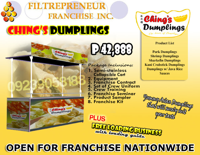 DUMPLINGS ON FOOD CART