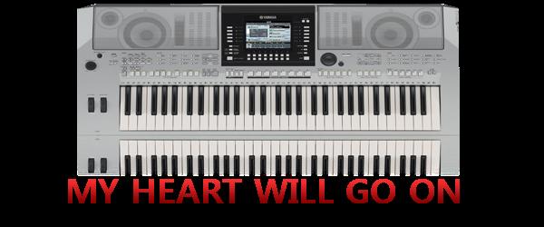 My Heart Will Go On | PSR USER