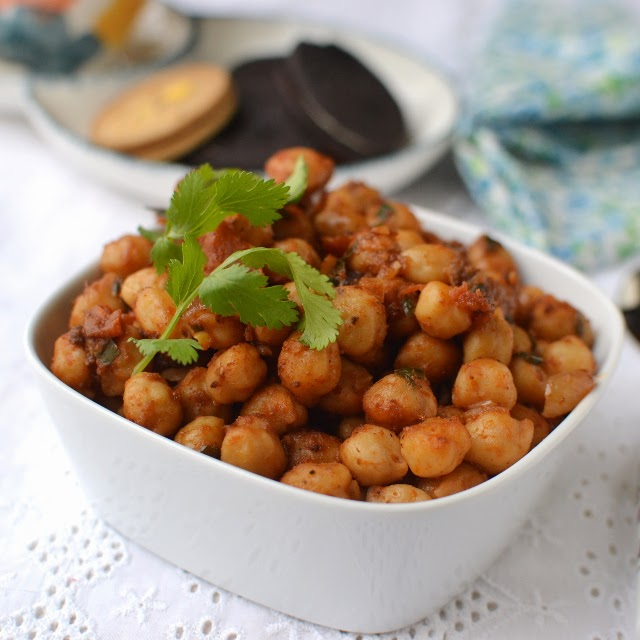 Manipur -- Kelli Chana (Spicy Chickpea snack)