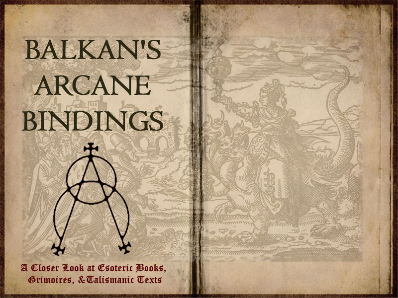 BALKAN'S ARCANE BINDINGS