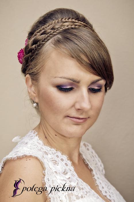 Makijaż ślubny - Ania