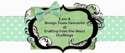 Design Team Favourite at Crafting from the heart challenge nº105