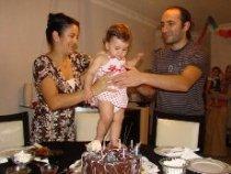 Begüm'ün 1 yaş doğum günü partisi