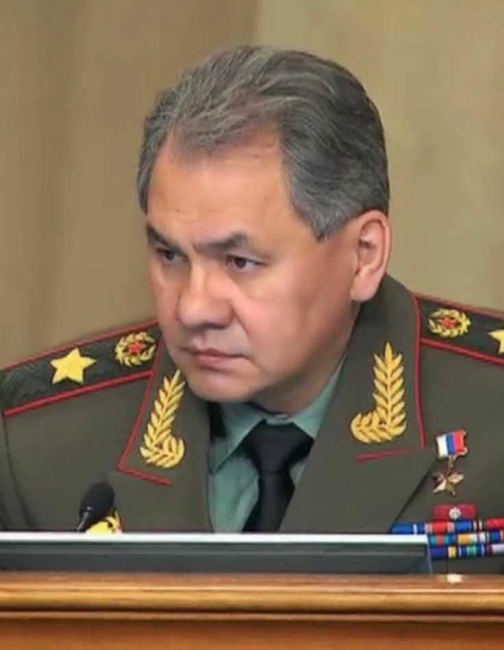 Sergei Shoigu, ministro russo da Defesa, já ameaçou