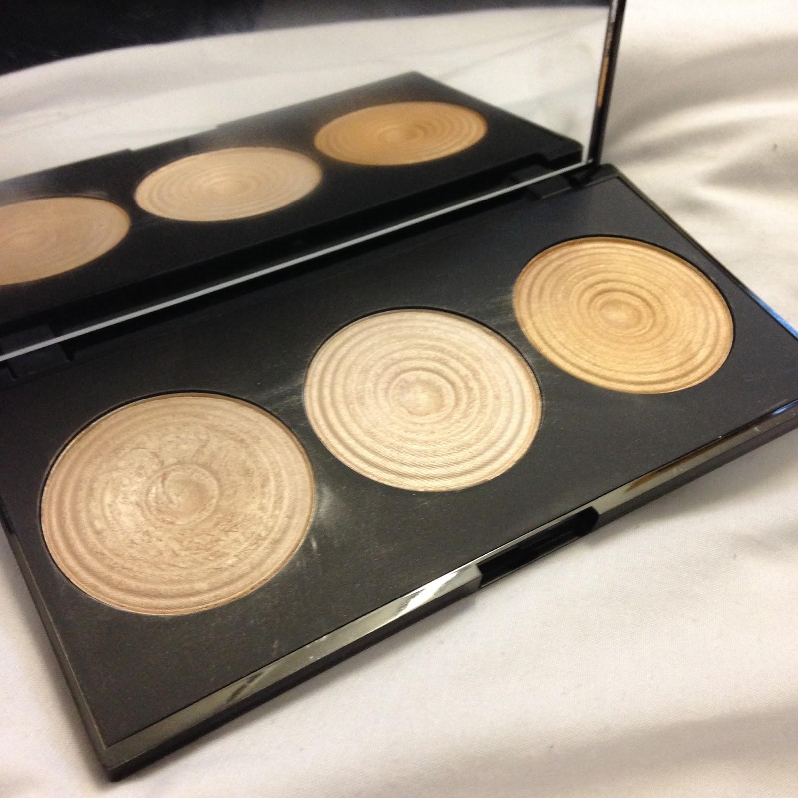 Review - Make Up Revolution Radiance Palette.