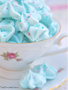 Baking Day: Cotton Candy Meringues