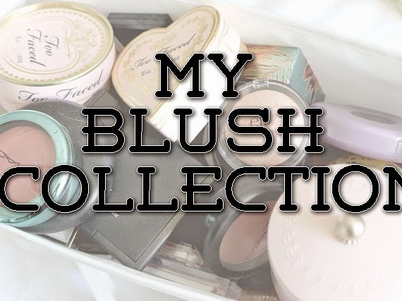 My Blush Collection - November 2014.