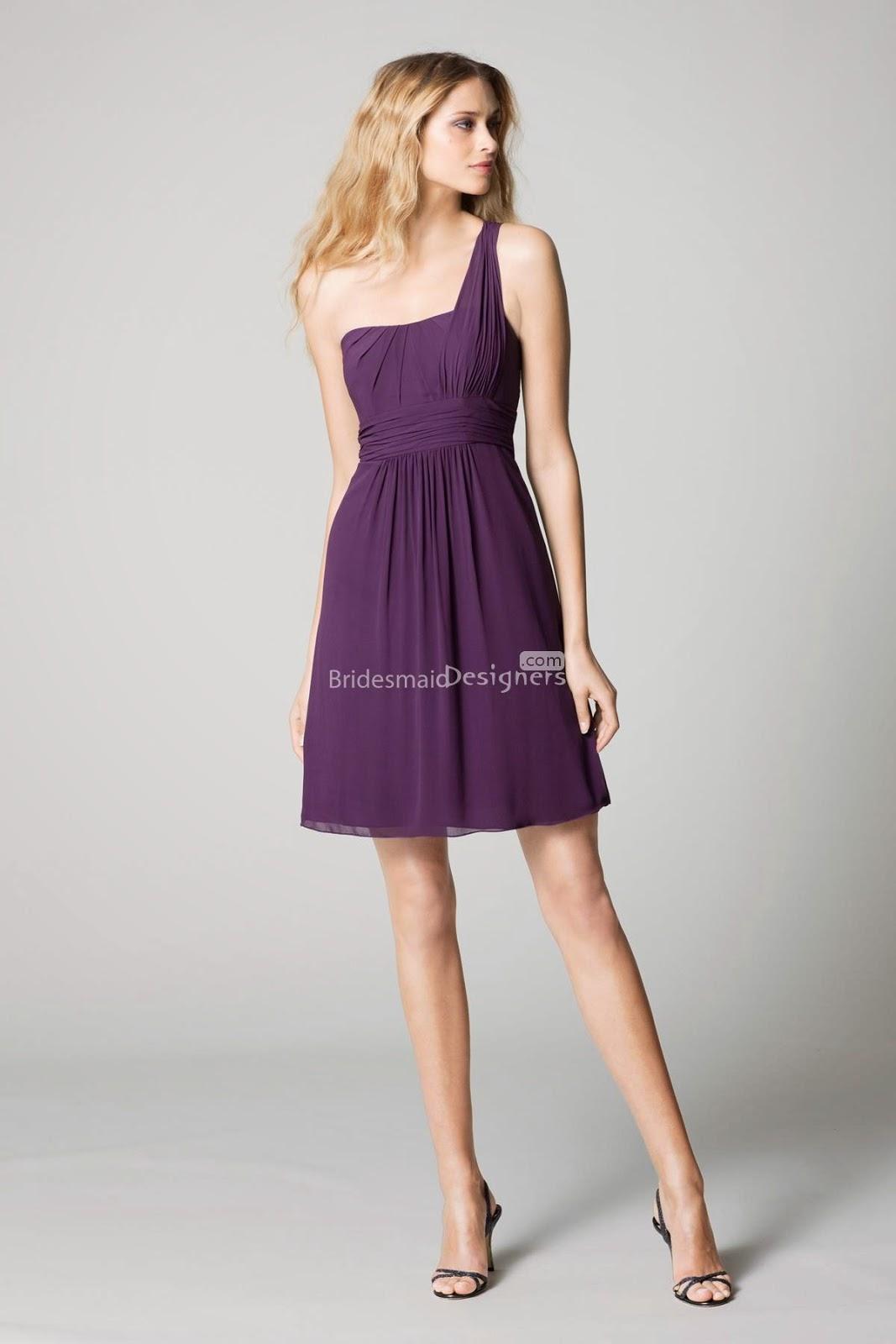 Purple Bridesmaid Dresses & Gowns