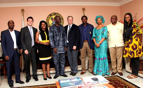 Eric Schmidt in Lagos
