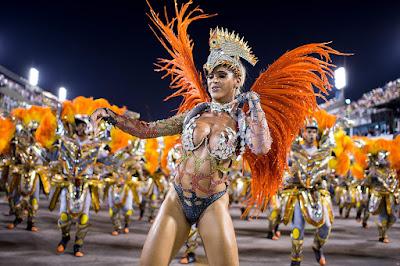 Brazil Carnival 2016 parade