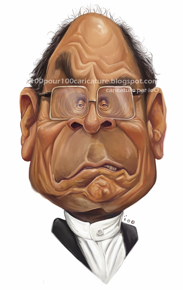 Caricature de Moncef Marzouki par ioo