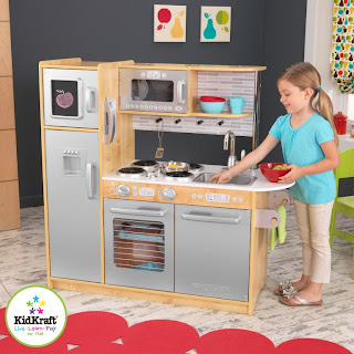 Kidkraft Uptown Natual Wood Play Kitchen