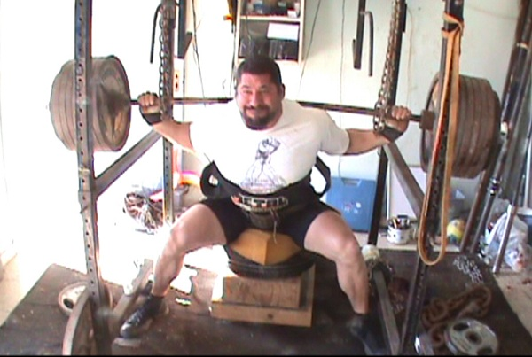 TRAVIS HOLLEY: The Almighty Box Squat