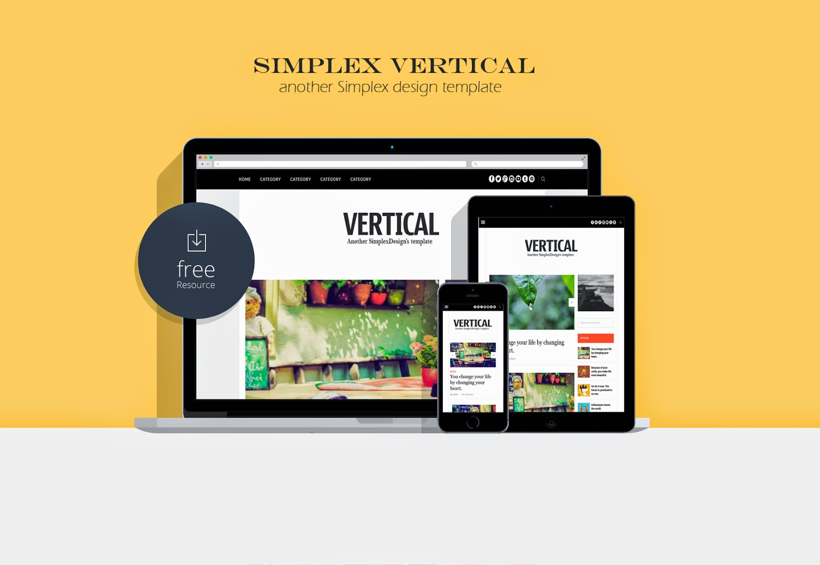 SimplexDesign - free blogger template: templates