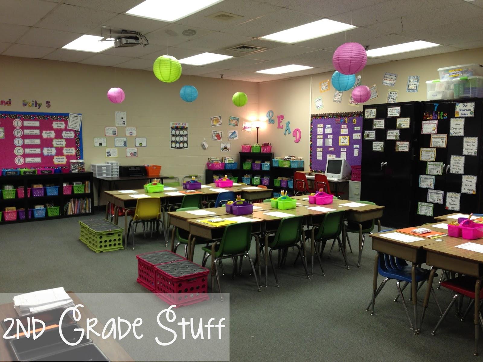 Classroom Ideas For 2nd Grade ~ Nd grade stuff classroom tour