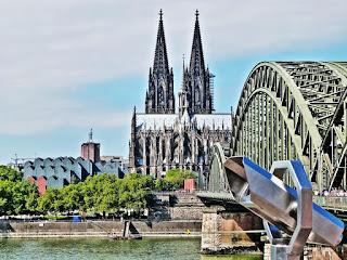 Köln, Hohenzollernbrücke, Kölner Dom, Acht Brücken Festival