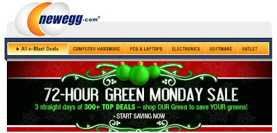 Dec. 10, 2012 Newegg email