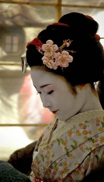 Geisha als inspiratiebron