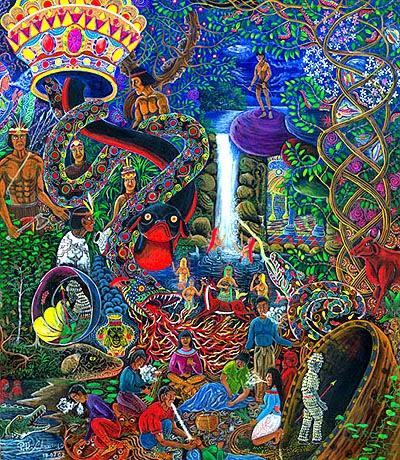 Consciousness Pablo_amaringo-huarmi-nahui_sm1