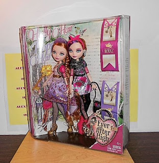 EVER AFTER HIGH - HOLLY O'HAIR AND POPPY O'HAIR - SET OF 2 DOLLS