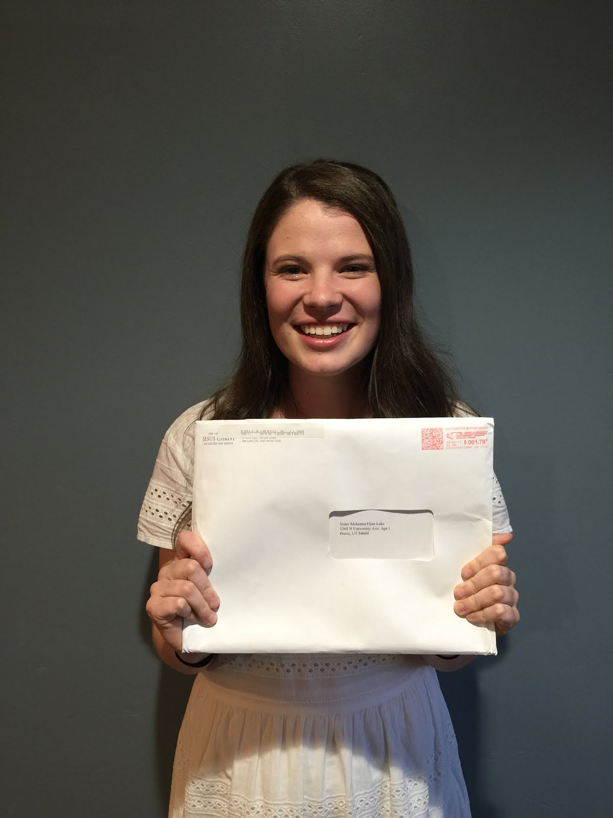 OPENING HER MISSION CALL