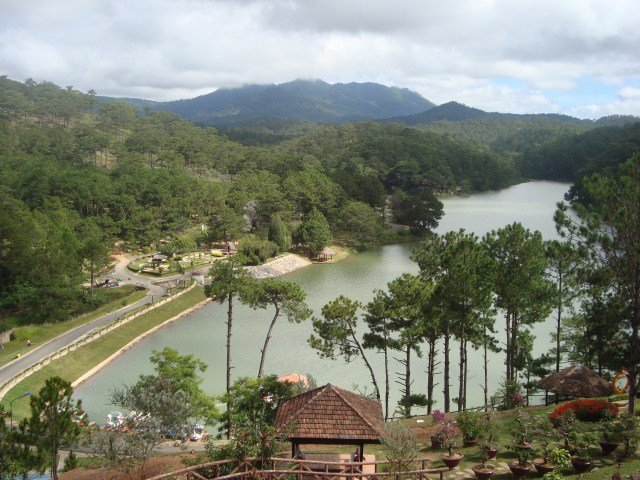 The valley of lovers of Da Lat