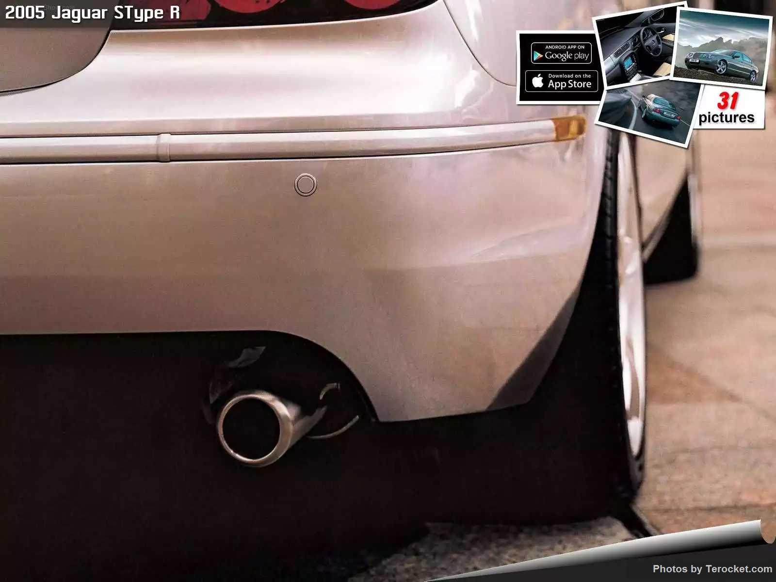 Hình ảnh xe ô tô Jaguar SType R 2005 & nội ngoại thất