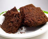 Bolo de Chocolate no Vapor (vegana)