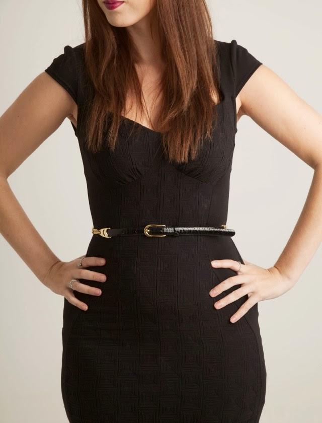 body-con-black-dress