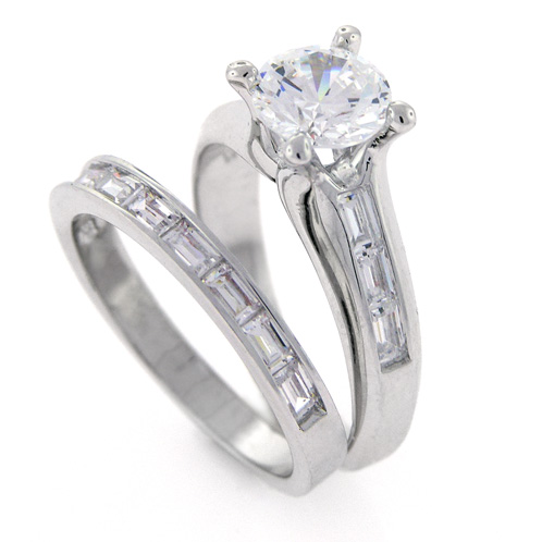 Overstock Engagement Rings on Modern Engagement Wedding Ring