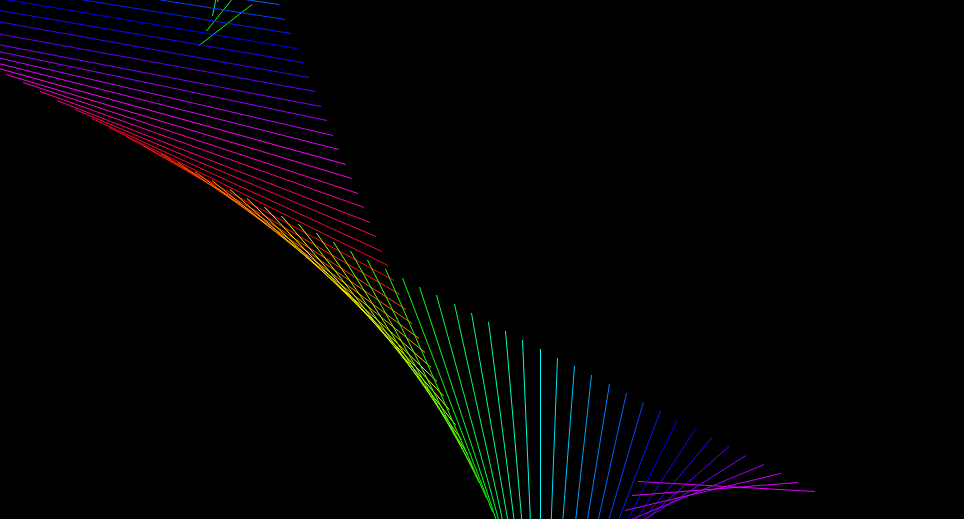 Drawing Antialiased Lines With Opengl : A mini project random flowing lines qix like opengl
