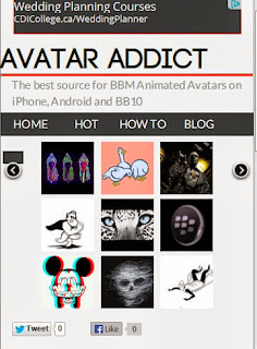 The best source for BBM Animated Avatars on iPhone, Android and BB10