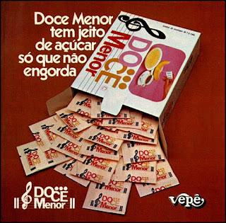 adoçante artificial; década de 70. os anos 70; propaganda na década de 70; Brazil in the 70s, história anos 70; Oswaldo Hernandez;